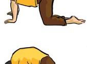 ۵-آموزش یوگا به مبتلایان اسکولیوز