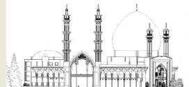 حکایت ایراد پیرزن به مناره مسجد و تدبیر معمار
