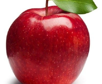چاقی صورت با سیب