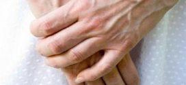 رگ های زیر پوست دست