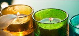 فروش شمع های رنگی در شعب آکادمی یوگا مازندران