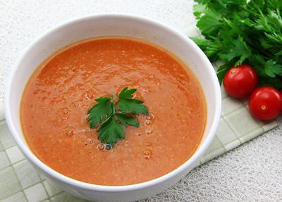 تهیه سوپ سم زدای سیر و زنجبیل