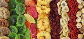 خواص میوه های تازه و خشک