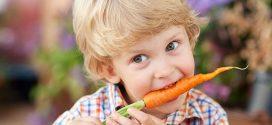 مزایای هویج برای کودکان