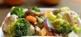تهیه بشقاب مخلوط سبزیجات