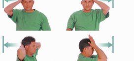 چند نرمش ساده ومفید برای دردهای گردن و شانه