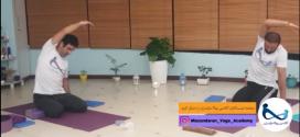 جلسه ششم یوگا لایو آکادمی یوگا مازندران
