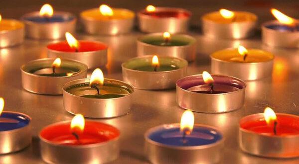 فواید درمانی انواع شمع های رنگی